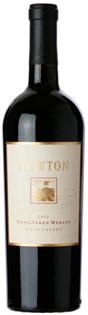 Newton Merlot Unfiltered 2012 750ml